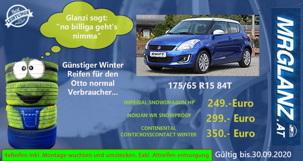 Suzuki Swift winterreifen